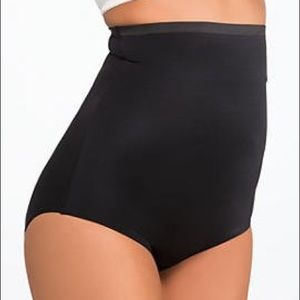 NWT Black Spanx High Waisted Panties